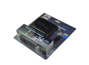 Sega Saturn SS Controller Adapter für PC USB (2x SS controller zu PC USB)