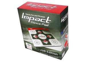 Impact Soft DanceMat (PC USB) Tapis de danse Positive Gaming