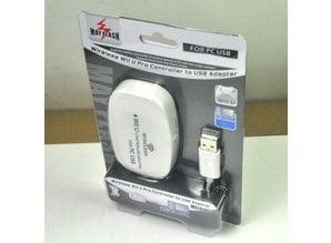 Wireless Wii U Pro Controller to PC USB Adapter