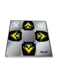 Metal Dance Pad with recessed arrows