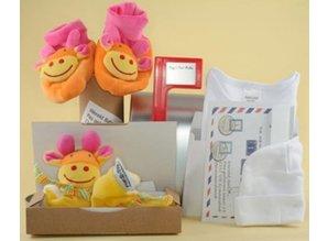 Pack Toys Baby's eerste mailbox Oranje