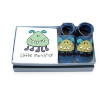 Inch Blue kraamcadeau Little monster