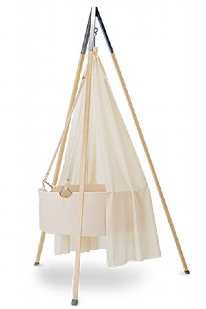 leander wieg met matrasje tevreden. Black Bedroom Furniture Sets. Home Design Ideas