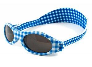 BabyBanz KidzBanz Zonnebril - Blue Checkers