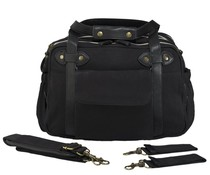 SoYoung Black Charlie Diaper Bag Black Handles