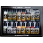 Vallejo Model Air Railway Colors - 16 kleuren - 17ml - 71191