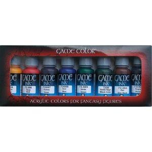 Vallejo Game Color Game Ink Set - 8 kleuren - 17ml - 72296