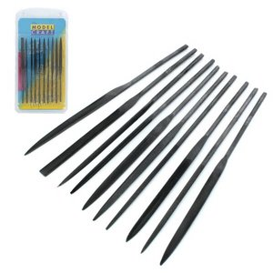 Model Craft Needle Files - 10x - PFL6001