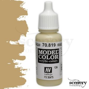 Vallejo Model Color Iraqui Sand -17ml -70819