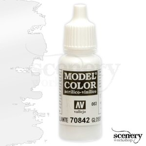 Vallejo Model Color Glossy White - 17ml - 70842