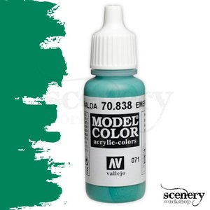 Vallejo Model Color Emerald - 17ml - 70838