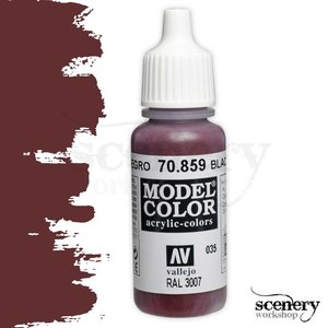 Vallejo Model Color Black Red - 17ml - 70859