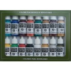 Vallejo Model Color Set Medieval Colors - 16 kleuren - 17ml - 70142