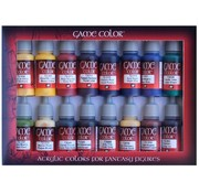 Vallejo Game Color Set Advanced - 16 kleuren - 17ml - 72298