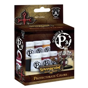 Privateer Press Formula P3 - Protectorate of Menoth Colors - P3 Paint - 6 kleuren - 18ml - PIP93002