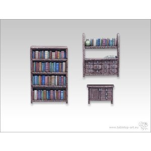 Tabletop-Art Boekenrek set - TTA600008