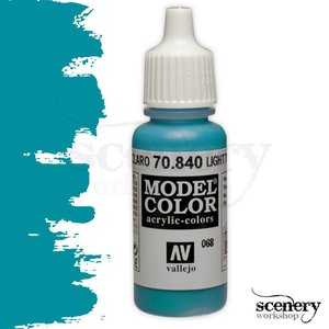 Vallejo Model Color Light Turquoise - 17ml - 70840