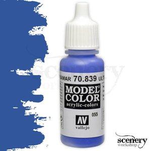 Vallejo Model Color Ultramarine - 17ml - 70839