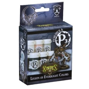 Privateer Press Formula P3 - Legion of Everblight Colors - P3 Paint - 6 kleuren - 18ml - PIP93085