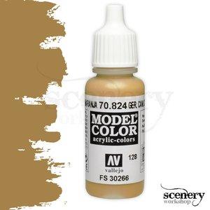 Vallejo Model Color Ger. Cam. Orange Ochre - 17ml - 70824