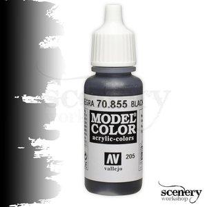Vallejo Model Color Black Glaze - 17ml - 70855