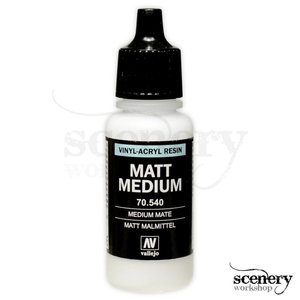 Vallejo Matt Medium - 17ml - 70540
