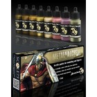 Scale 75 Metal'n Alchemy - Golden metallic paint set - 8 kleuren - 17ml - SSE-010