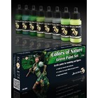 Scale 75 Colors of Nature - Green Paint Set - 8 kleuren - 17ml - SSE-006