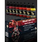 Scale 75 Blood and Fire - Red Paint Set - 8 kleuren - 17ml - SSE-005