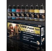 Scale 75 NMM Paint Set Gold and Copper - 8 kleuren - 17ml - SSE-002