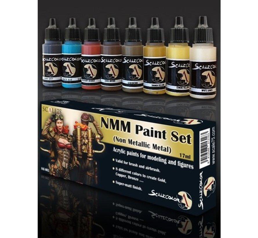 NMM Paint Set Gold and Copper - 8 kleuren - 17ml - SSE-002