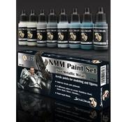 Scale 75 NMM Paint Set Steel - 8 kleuren - 17ml - SSE-001