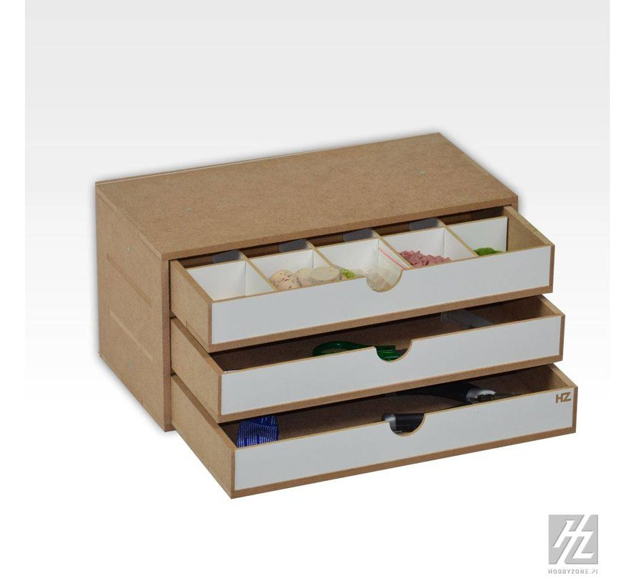 Drawers Module x3 - OM02a