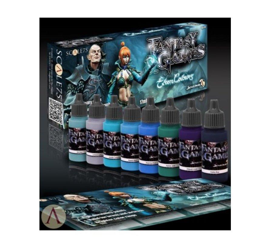Elven Colours - Fantasy & Games - 8 kleuren - 17ml - SSE-017