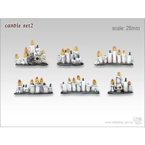 Tabletop-Art Candle Set 2 - TTA600027
