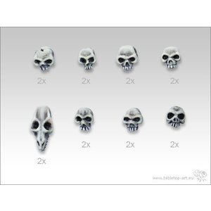 Tabletop-Art Skull Set - TTA600005