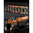 Scale 75 Metal'n Alchemy - Copper metallic paint set - 8 kleuren - 17ml - SSE-021