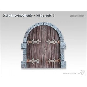 Tabletop-Art Terrain components - Large gate 1 - TTA800000