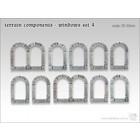 Tabletop-Art Terrain components - Windows set 4 - TTA800007