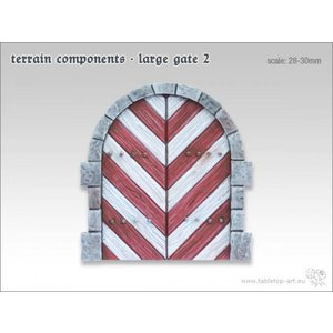 Tabletop-Art Terrain components - Large gate 2 - TTA800005