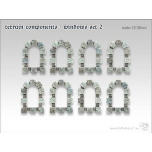 Tabletop-Art Terrain components - Windows set 2 - TTA800004