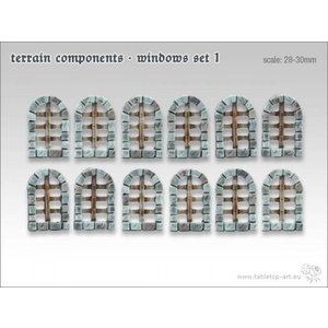 Tabletop-Art Terrain components - Windows set 1 - TTA800003