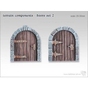 Tabletop-Art Terrain components - Doors set 2 - TTA800002