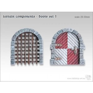 Tabletop-Art Terrain components - Doors set 1 - TTA800001