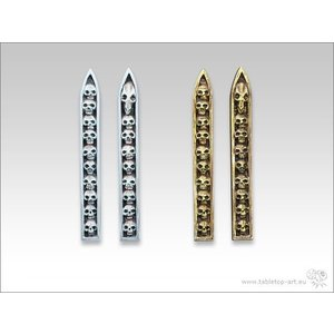 Tabletop-Art Skull Insignia set 1 - TTA600015