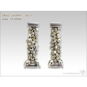Tabletop-Art Skull Column set 1 - TTA600021