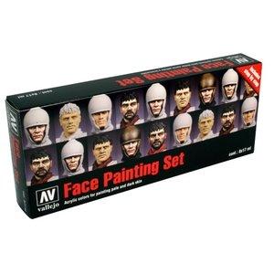 Vallejo Model Color Face Painting Set - 8 kleuren - 17ml - 70119
