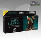 Vallejo Fantasy-Pro Fairy Flesh Set - 8 kleuren - 17ml - 74101