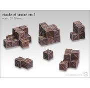 Tabletop-Art Stacks of crates set 1 - TTA601052