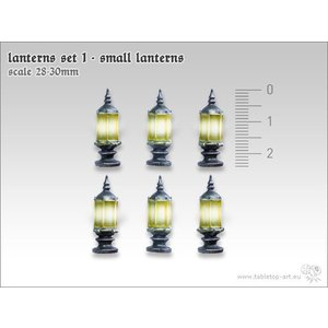 Tabletop-Art Lanterns set 1 - Small lanterns - TTA601054